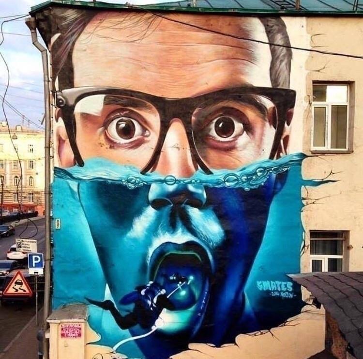 Dive  - Creative, Surrealist, StreetArt - bitfactory | ello