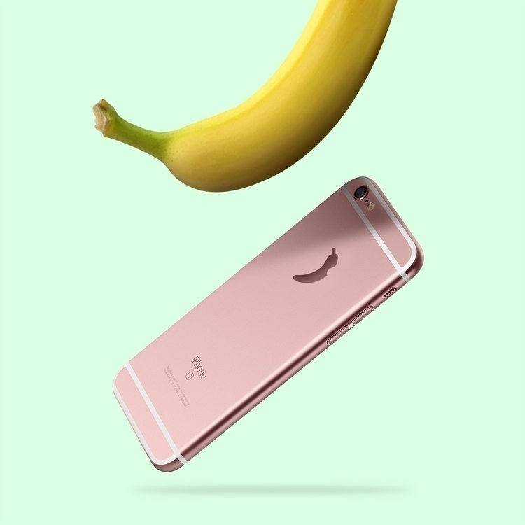 apples - iphone, bananas, fortheloveofbananas - the_lallipop | ello