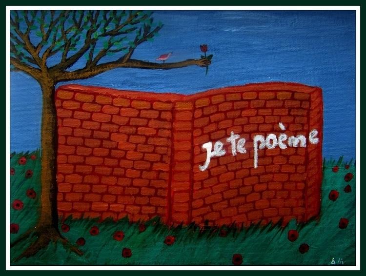 paging, (acrylic canvas - atlantul | ello