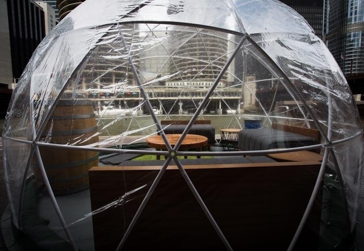 Life bubble geodesic dome Chica - junwin | ello