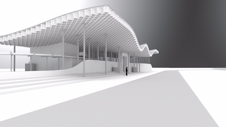 Supermobility: Sports Pavilion  - j_calvin | ello