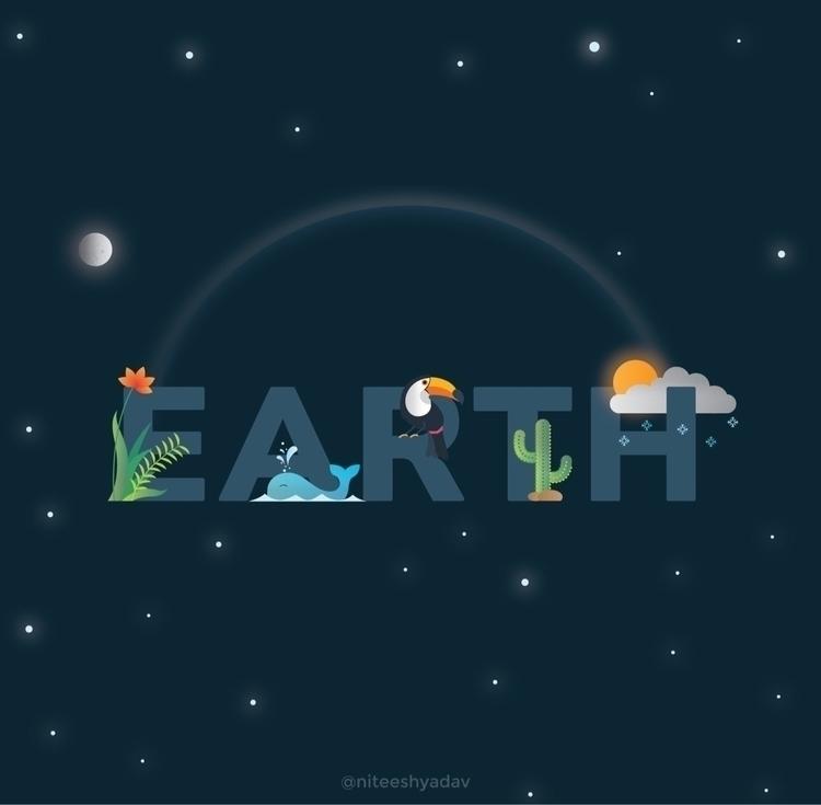 Earth Day, commit conserve envi - niteeshyadav   ello