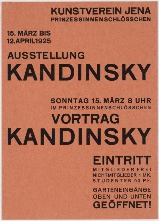 Walter Dexel, Ausstellung Kandi - modernism_is_crap   ello
