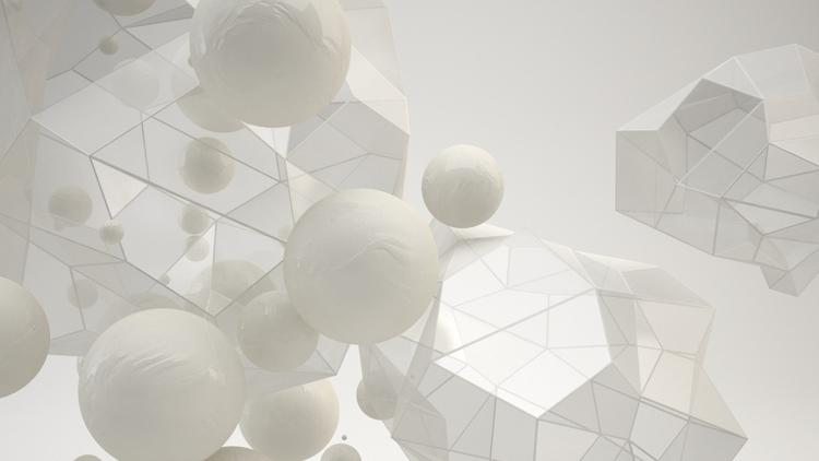 minimal, c4d, vray, abstraction - alexandros | ello