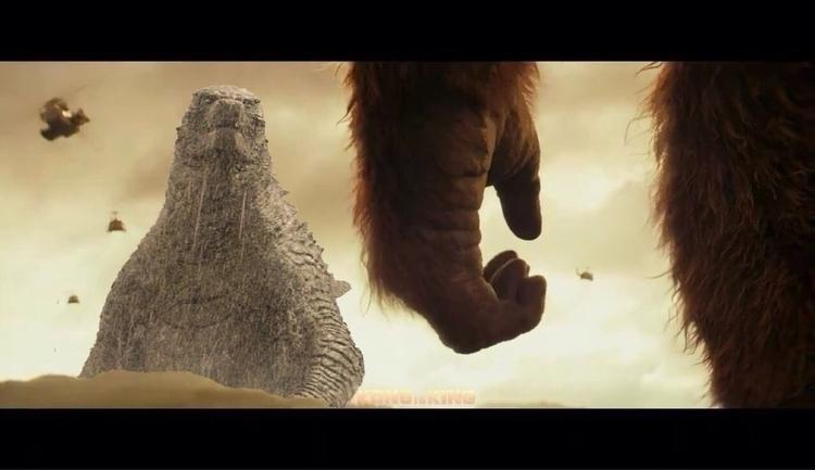 GODZILLA KING KONG (2020) Sneak - devinosaurus | ello