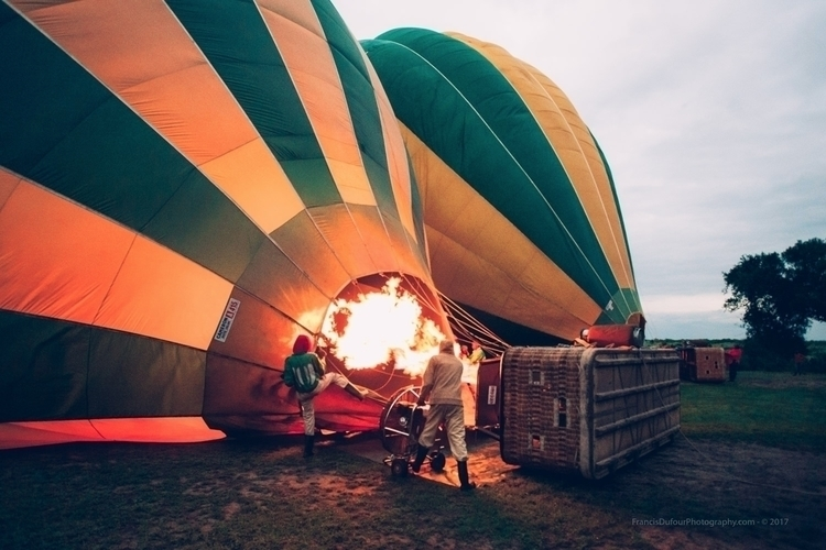 Balloon Ride Africa Day Masaï M - francisdufour   ello