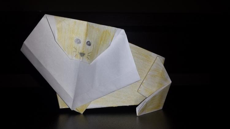 Origami, Lion - shardsofnarsil | ello