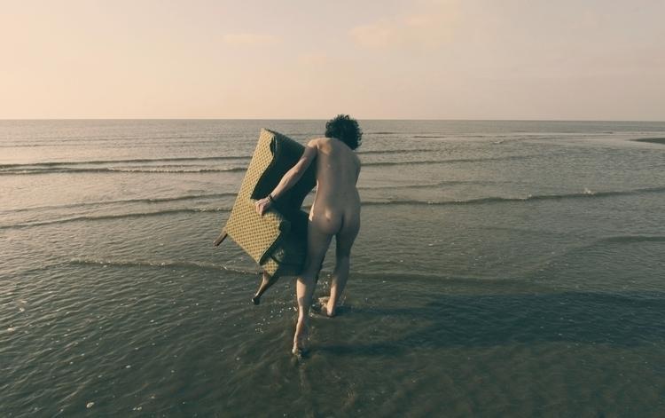 cold day - nude, beach - snowyroads | ello