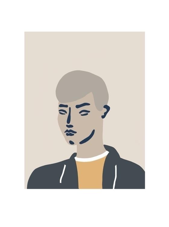 Portraits strangers - art, illustration - jyxchen | ello