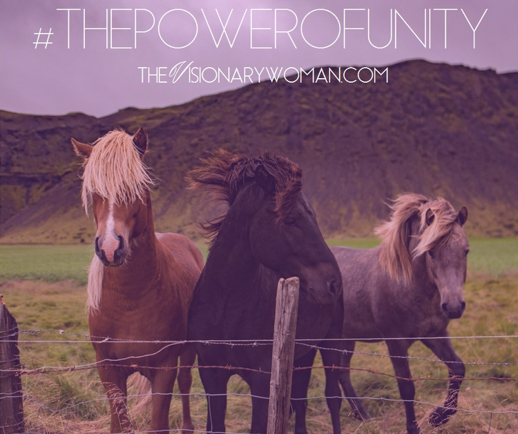 Great Power Unity - TheVisionaryWoman, - thevisionarywoman   ello