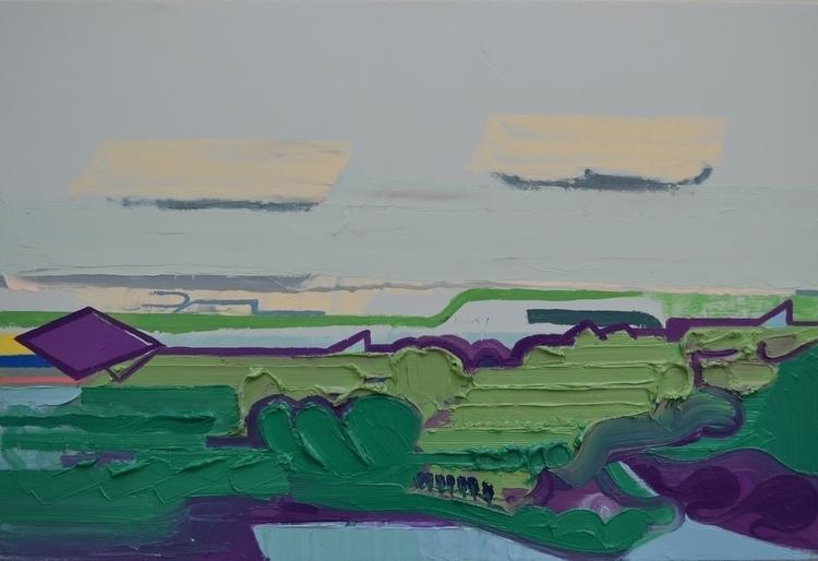 Albert Zwaan - Landscape A3, 20 - albertzwaan | ello