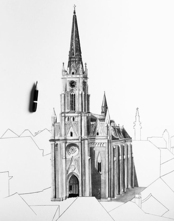 NoviSad, Serbia, art, drawing - epdraw | ello