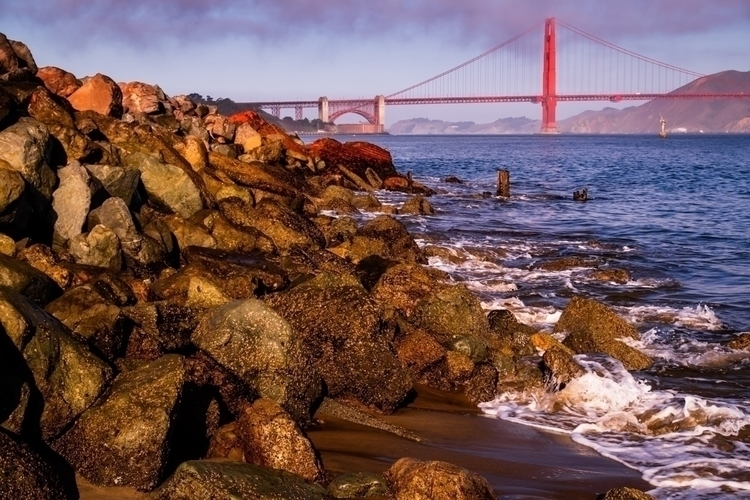 San Francisco Rocks Bay surf la - mattgharvey | ello