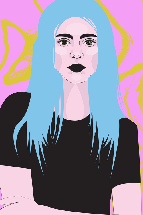 illustration, illustrator, photoshop - xeezles | ello