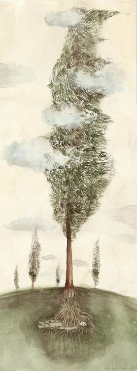cloud catcher - alinabradu | ello
