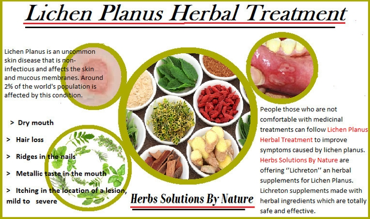 Lichen Planus Herbal Treatment  - herbs-solutions-by-nature | ello