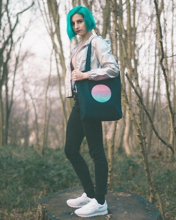 Prototype des premiers tote bag - hermits | ello
