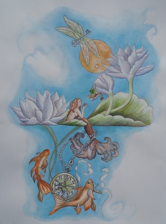 Art series works - imagination, observer - happyfamilyart | ello