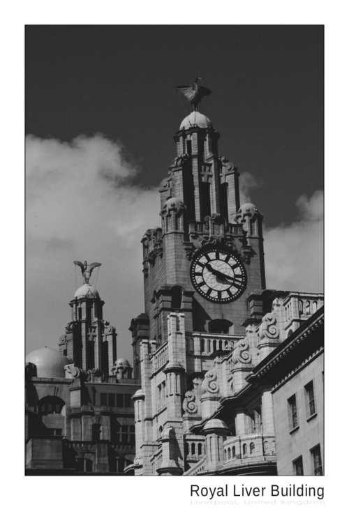 Royal Liver Building Liverpool  - ageekonabike | ello