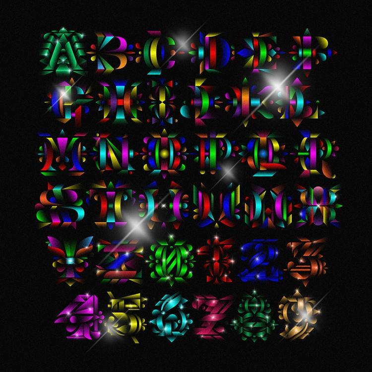 Complete alphabet - 36daysoftype - lukasklepke   ello