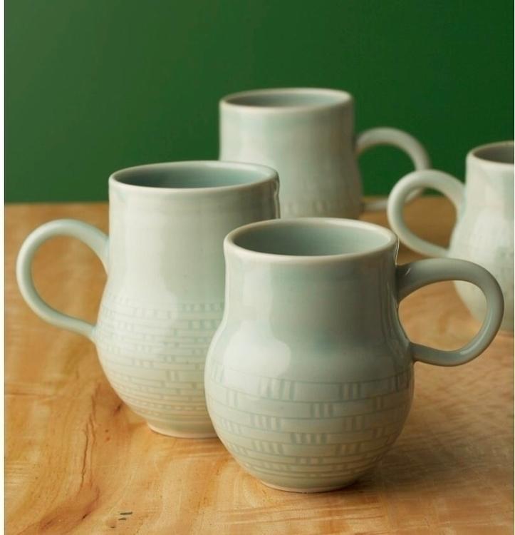 Maker Mugs. handles sexy - porcelain - hornaday | ello