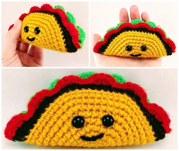 Happy tiny. tasty. taco - TacoTuesday! - miniaturemonkeycreations | ello