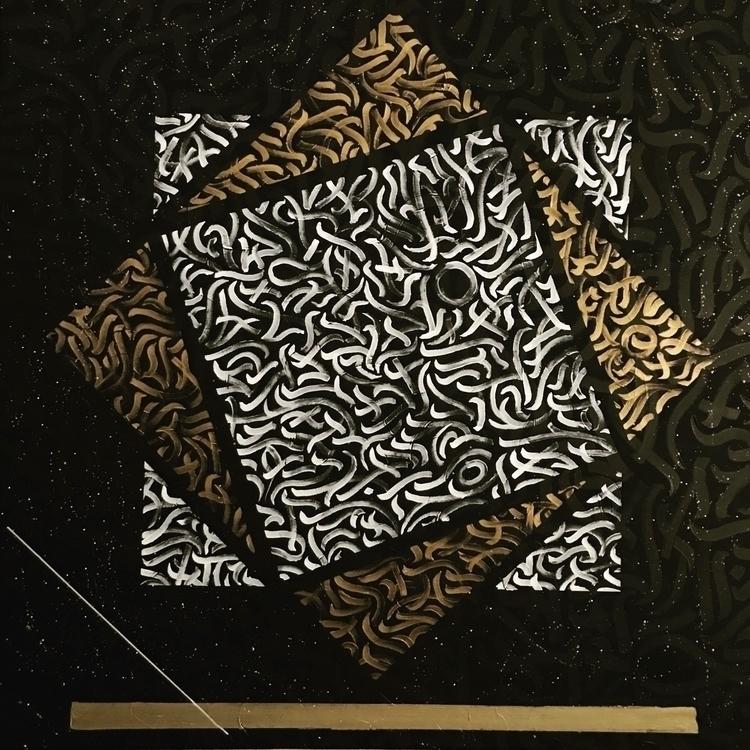 - Fragmentatiøn Modern Calligra - darksnooopy | ello