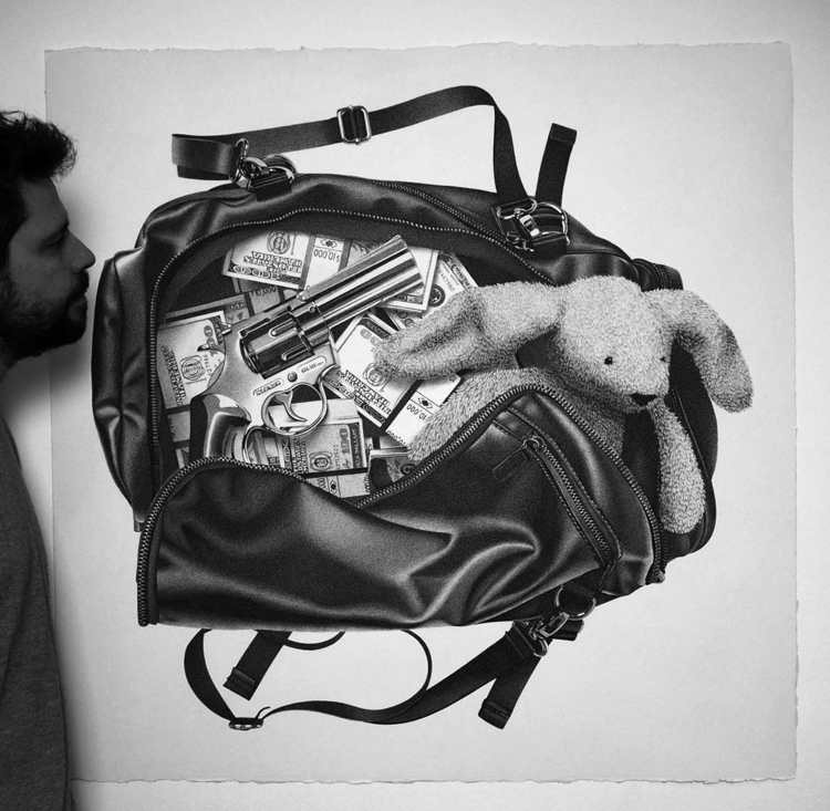 Money Bag Pens Drawing Follow - alessandropaglia2 | ello