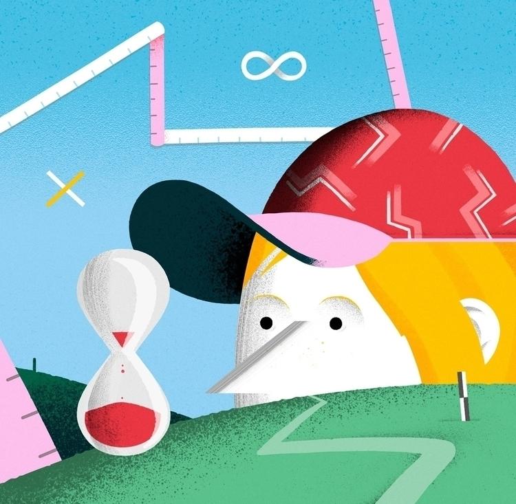 editorial, illustration, characterdesign - leandroalzate | ello