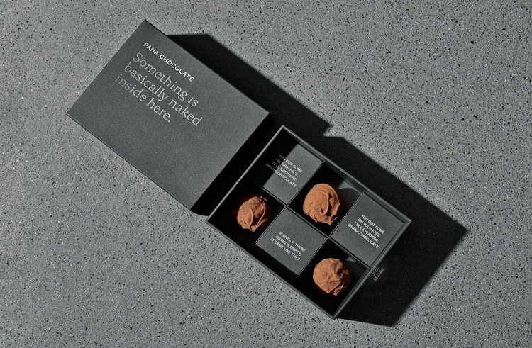 Design: Company Pana Chocolate - minimalist | ello