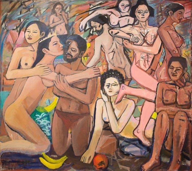 Chaos Theory Acrylic canvas, 74 - chunbumpark   ello