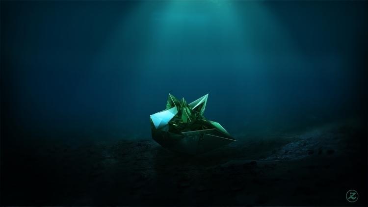 Emerald Sea   Zanro - Design, 3D - zanro   ello