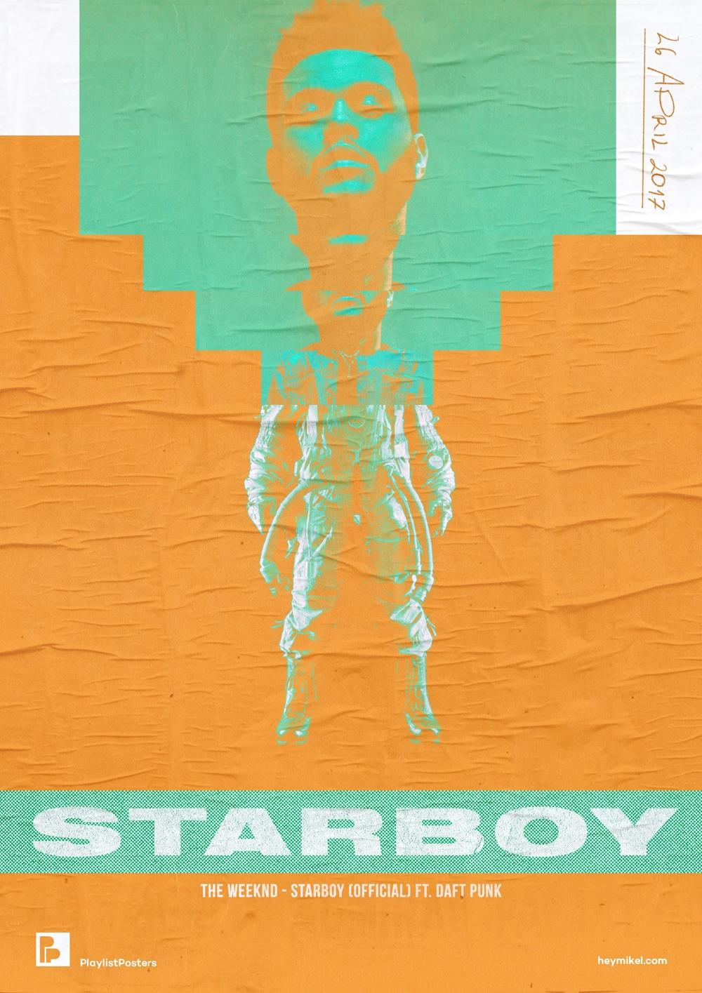 Playlist-posters // Weeknd - St - heymikel | ello