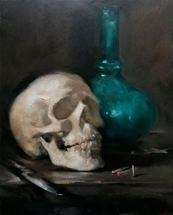 dark gloomy candle invoke grave - demetriablak | ello