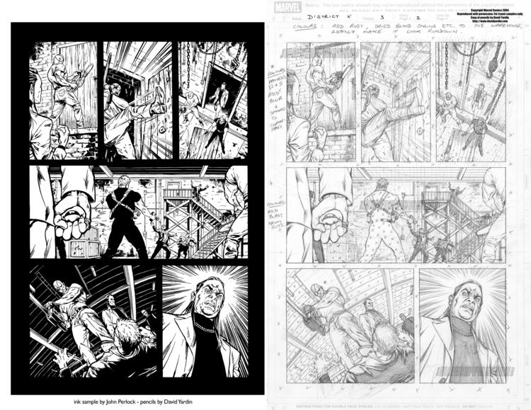 District issue 3, page 2. Unpub - johnperlock_illustrator | ello