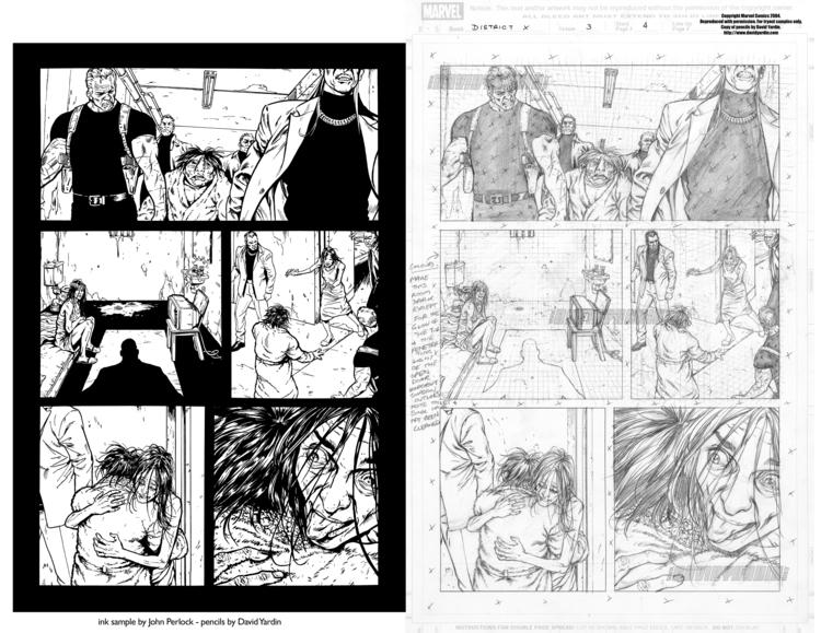 District issue 3, page 4. Unpub - johnperlock_illustrator | ello