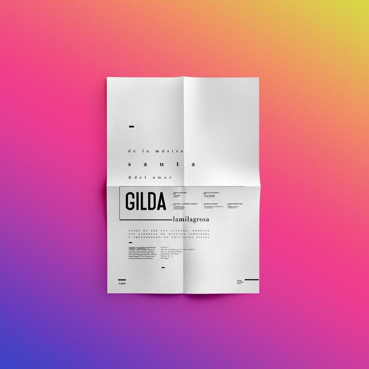 // typo - cumbia, gilda, tipografia - sophiexs__ | ello