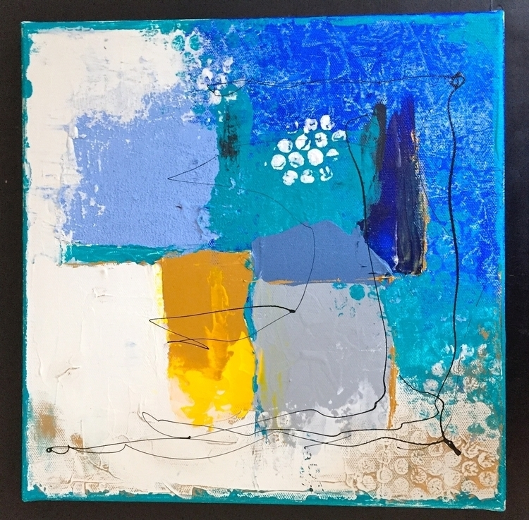 Exploring textures Painting mix - vcoloiera | ello
