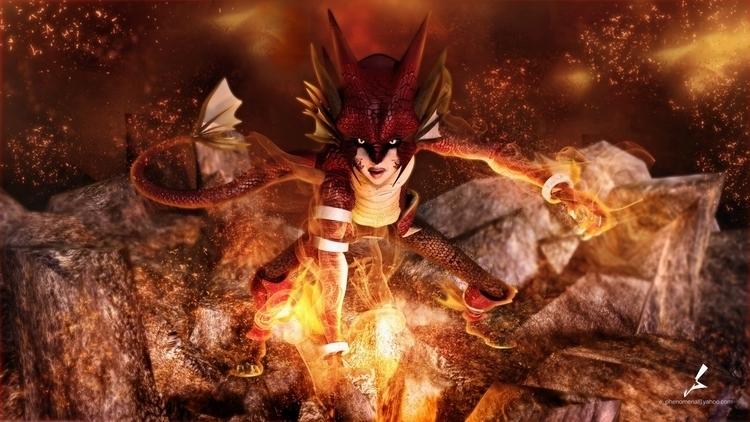 Dragonboy original Character De - erwilsondj | ello