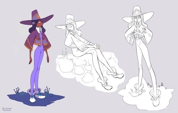 characterdesign, line - tristan-2688 | ello