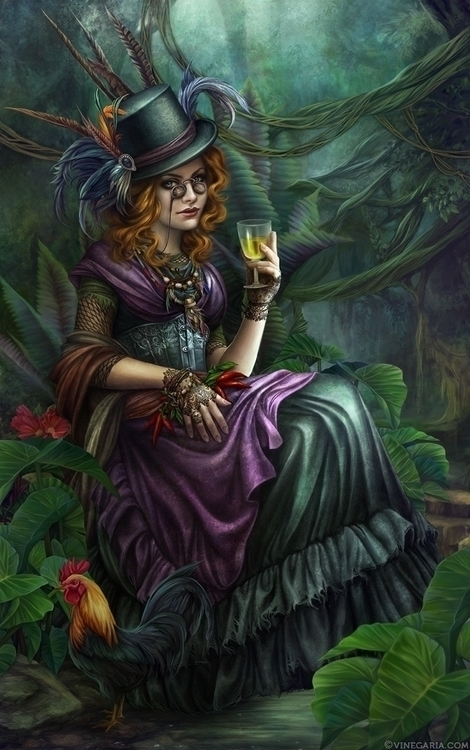 Maman Brigitte - voodoo, hoodoo - vinegar-5452 | ello