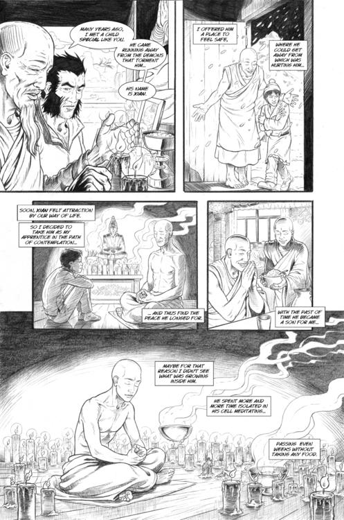 Nightmare page 17 - wolverine, comicbooks - alexfemenias | ello