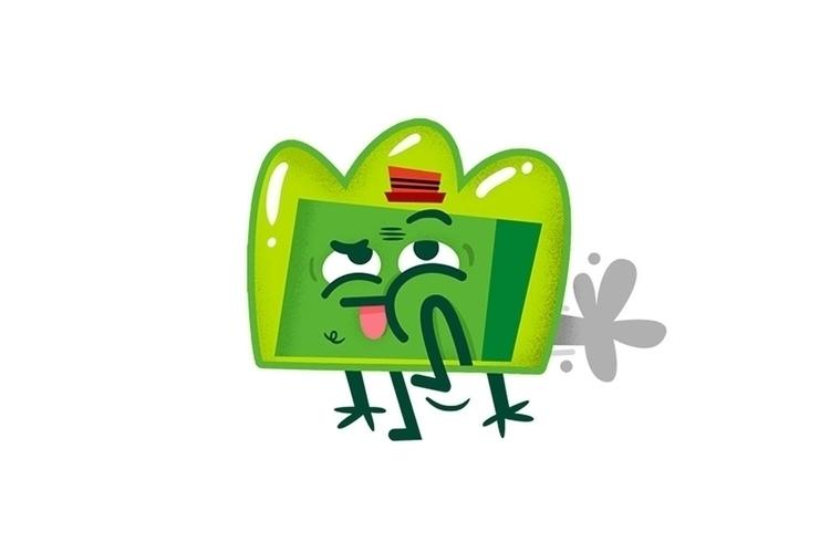 LINE / Sticker pack DUNDO_GO NU - eldundo | ello