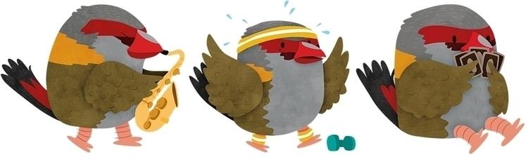 Red-browed Finch - bird, redbrowedfinch - clairestamper   ello