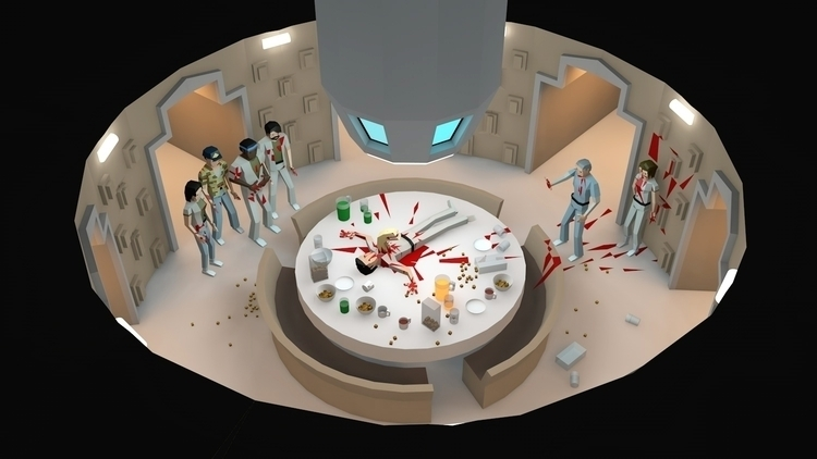 Table manners - animation, animatedgif - veej | ello