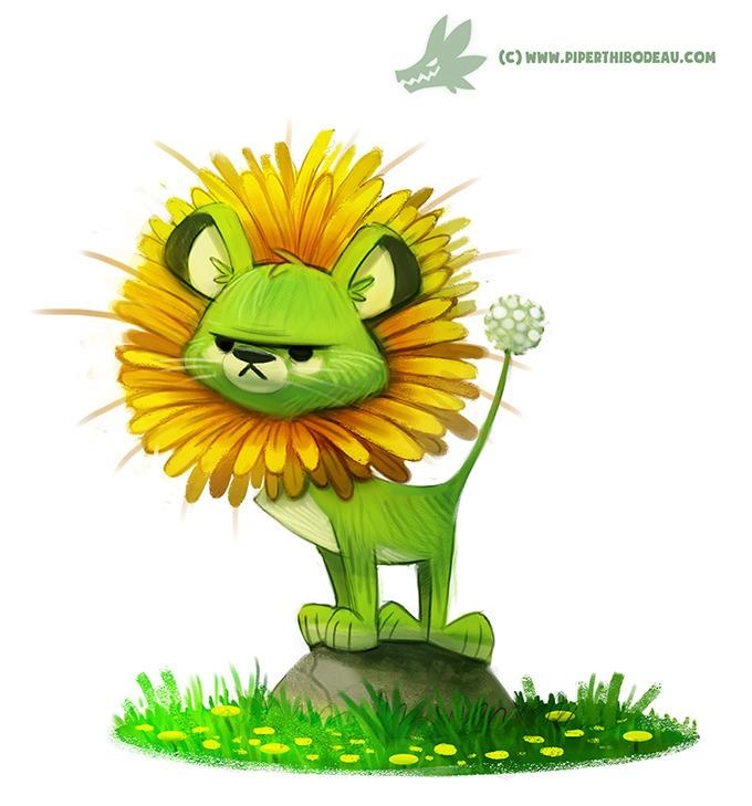 Daily Painting Dande-Lion (OG - 966. - piperthibodeau | ello