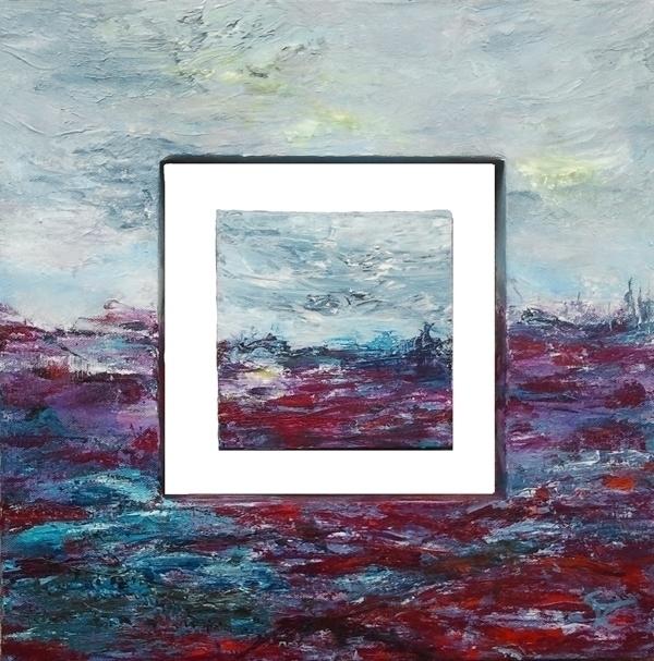 Water landscape 5 50 cm sold - painting - xplore-1239 | ello