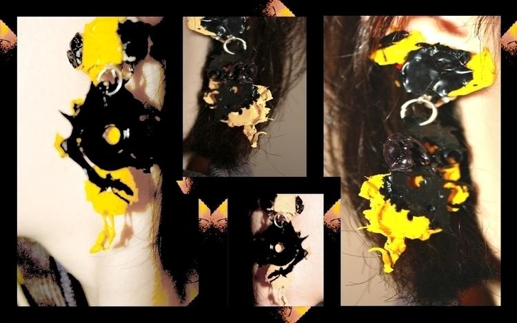 Splash acrylic paint - art, accessories - aiakira | ello
