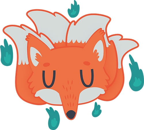 Fox Spirit Sprite - fox, spirit - clairestamper | ello
