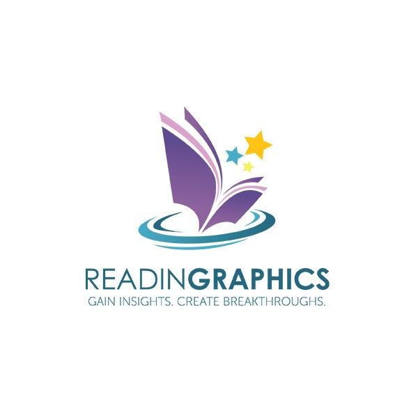 Reading Graphics Logo - illustration - gregscale | ello